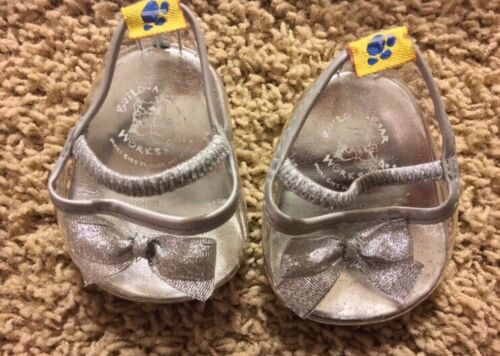 Build A Bear White Glitter Angel Outfit For Stuffed Animal Halo Clear Shoes - $14.99
