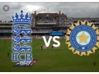 England v India - 4 Tickets - Day 2 - Kia Oval