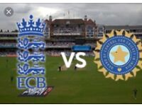 England v India ODI - 4 Tickets - Lords - Grand Stand