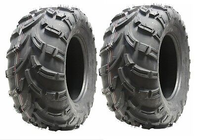 2pcs Quad tyre 25X10-12 6ply ATV tyres 25 10.00 12 set E marked road legal