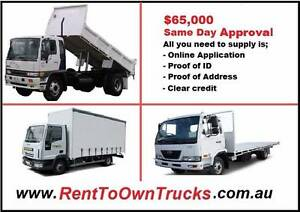 Rent to Own Trucks Melbourne Region Preview