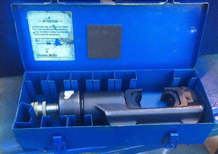 Thomas & Betts TBM15 Hydraulic Crimper Head T&B #1