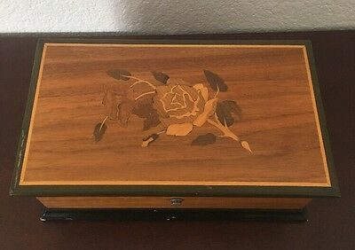 Vintage Thorens 4/50 Song Music Box - Made in Switzerland