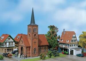 Faller 130239 H0 Kleinstadt-Kirche NEU OVP +