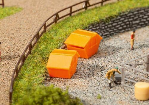 FALLER 272902 N Gauge 2 the Tipping Containers # New Original Packaging #