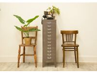 Vintage Industrial 'Stor' Twelve Drawer Metal Cabinet