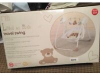 Baby swing, with music and auto swing feature