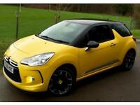 Citroen DS3 1.6THP ( 150bhp ) DSport**Just 28921 Miles**STUNNING IN YELLOW!**