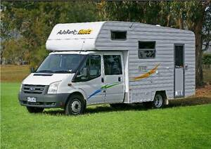 FAMILY SIZED MOTORHOME WITH SHOWER AND TOILET Launceston Launceston Area Preview