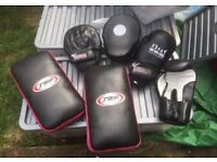 Focus Kickboxing Gloves, Mitts and Pads