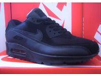 Brand new Men's Nike air Max 90s - Triple Black