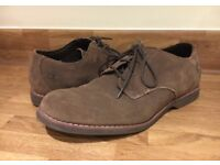 Timberland men's shoes, suede, size 7
