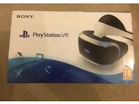 PlayStation VR BRAND NEW AND SEALED