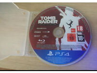 PlayStation 4 Tomb Raider Definitive Collection NO CASE