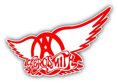 Aerosmith Band Logo Car Bumper Sticker Decal- 3'', 5'', 6'' or -