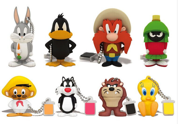 Cute Cartoon Animal USB 2.0 Memory Stick Flash pen Drive 8GB 16GB 32GB 64GB BQ16