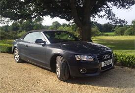 Audi A5 Convertible - Grey