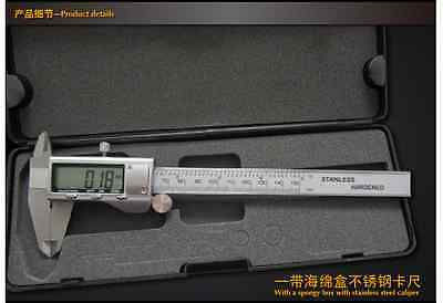 Lcd Electronic Digital Gauge Stainless Vernier Caliper 0-150mm 6 Inch Micrometer