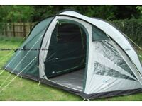 SUNNCAMP EVOLUTION 6 BERTH TENT LIKE NEW USED ONCE RRP £199 PLUS ACCESORIES