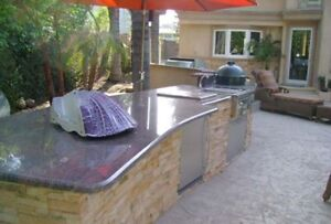 BBQ Countertop - Outdoor - Get your BBQ done in 3-5 days