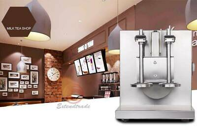 Bubble Boba Milk Tea Shaker Machine Doubleframe Control Cream Auto Shaking Mixer