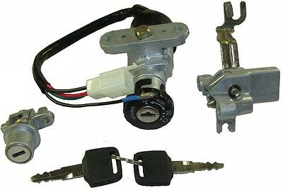 Key Switch Assembly (lock set) for Znen 50cc 50QT-A Moped Scooter