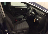 BLUE VOLKSWAGEN PASSAT CC 2.0 TDI CR 170 GTR LINE 140 5 SEAT FROM £25 PER WEEK!