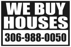# WE BUY HOUSES OF ALL SHAPES, SIZES AND CONDITIONS