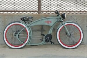 ELECTRIC BIKES Handmade, designed and built in Germany.