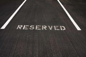 Parking spot available- London & Edinburgh Rd