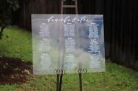 Acrylic Signs - Welcome , Menu , Table Numbers & More !