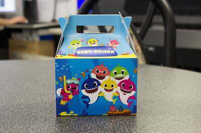 BABY SHARK PARTY FAVOR BOXES SET of
