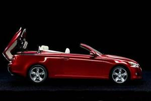 Lexus red convertible 2013 - 58,500km warranty to 2021 - $29,900