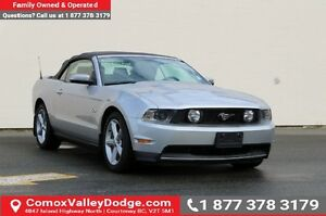 2012 Ford Mustang GT CONVERTIBLE, HEATED LEATHER SEATS, BLUET...