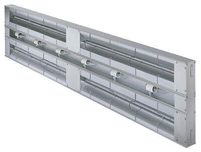Hatco 36 Aluminum Dual Strip Heater 3 Spacer W Lights 1780 Watt