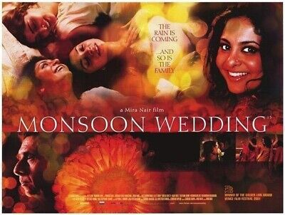 Monzón Boda (Scenes) ( Doble Cara ) Original Cartel de Película