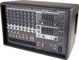 YAMAHA EMX512SC powered mixer amp