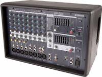 YAMAHA EMX512SC powered mixer amp