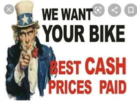 Motor bikes wanted