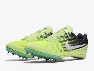 45e61cade5a Nike Zoom Rival M 8 Men Track Sprint Spikes 806555 313 Green Size 13 NO  SPIKES