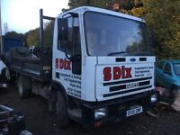 Ford Iveco tector tipper 51 Reg road worker flatbed tarmacer builder yard choice of 2 no vat px