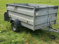 Car trailer 6x4, high sided, factory made!!