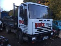 Ford Iveco cargo tipper 51 Reg tarmacer dropside Builder yard muck truck 2 available px