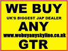 SKYLINES BOUGHT FOR CASH ANY GTST GTR GT-R Nationwide Collection, High Wycombe