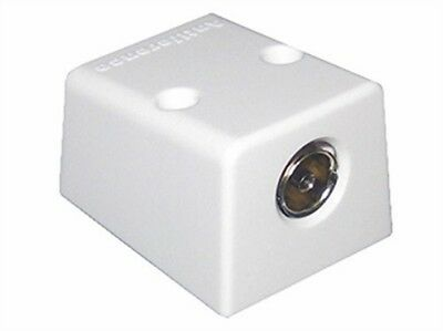Antiference Coaxial TV Aerial Outlet Socket TV FM Surface Mount Surface Mount Antenne