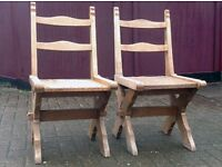 Two Old Chairs