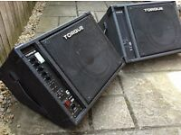 Two Torque Stage Monitors