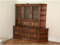 Ercol wooden cabinet for sale