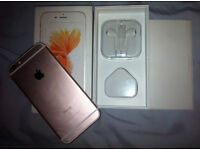 IPHONE 6S 16GB IN ROSE GOLD !!!