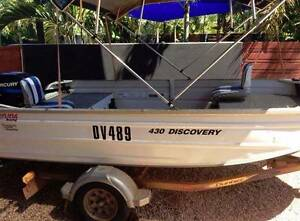 Boat - Bermuda 4.3m Discovery 40hp Mercury Broome Broome City Preview